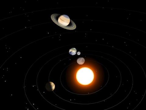 Awe-Inspiring Interactive 3D Model of the Solar System ...